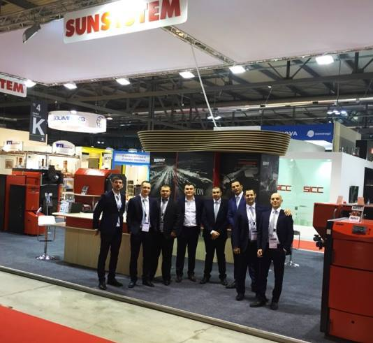 MCE - 2016 год - SUNSYSTEM BURNiT- Милан, Италия ( 03.15.2016 - 03.18.2016 ) .